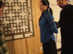 2 Chinese Girls Dancing In Bondage