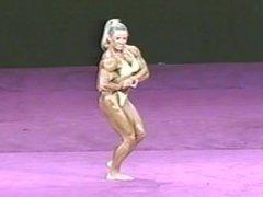 FBB Angela Debatin @ Ms International 2001 On Stage Posing