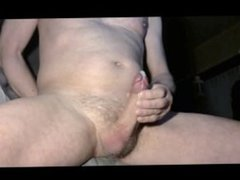 closeup from my massive cumshot in front of my webcam