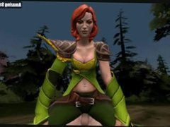 S F M Cartoon, Game Girl, Rexxart porn GIF compilation