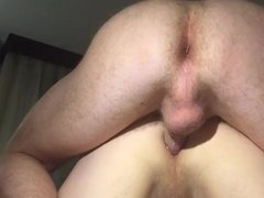 Slow motion fuck with condom