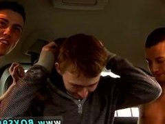 Kinky nipple suck and suck his neck gay porn movie Abandoned in a car