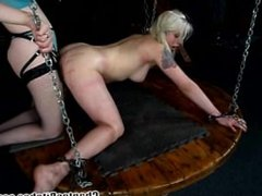 Lorelei bound and whipped by Mistress