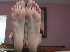 Blue Toes in Your Face