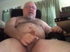 Daddy bear cumshot compilation