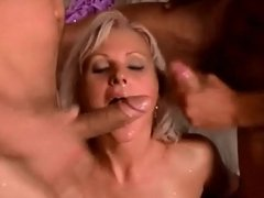 beautiful blonde facial 43