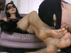 Asian Goddess Feet Worship 2