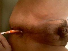 Toothbrush Milked Me OUT : Prostate Orgasm Shaking
