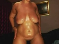 Oily bubble housewife
