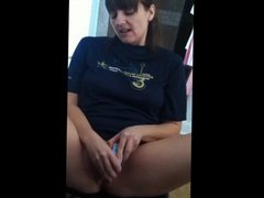 Sexy brunette milf self-shot compilation
