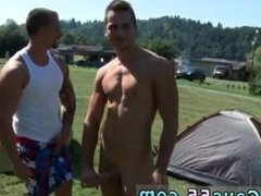 Hard bloody gay porn movie Camp-Site Anal Fucking