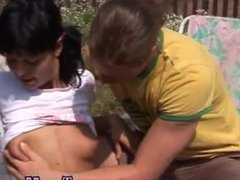 Teen jerkoff instructions Anal poked at bbq party