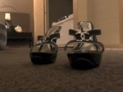 Playful Bedroom Feet POV