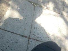 Masturbation in public park