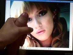 Bella Thorne cum tribute 9