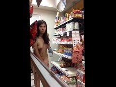 Masterbating in Grocery Store And Gets Caught