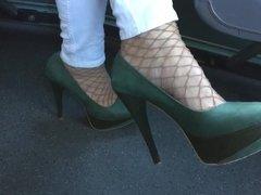 My Lady in Plateau heels