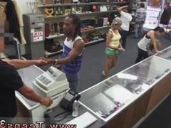 Amateur teen black cock Fucking Your Girl In My PawnShop