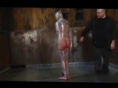 Mummified cunt Aiden Aspen gets punished for being a woman