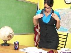 Sexy Professor Jelena Jensen Teaches a Lesson