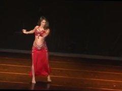 belly dancer weight gain