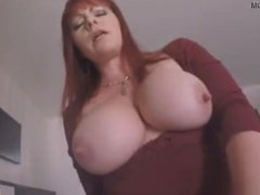 Virtual Sex- redhead milf Kylie Ireland is fucked by her stepson