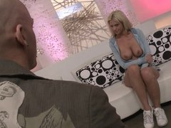 Big boobs Tanya James survives a thrilling fucking from reverse