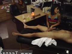 Cute amateur pov first time We went back into the office to set up the