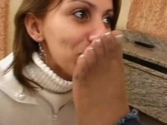 Brazilian lesbians foot worship