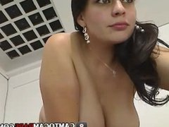 Beautiful shaved pussy latin woman stripped dance