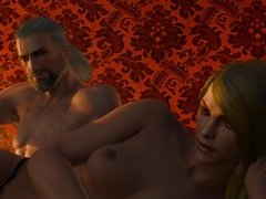 The Witcher 3 - Sex with Amrynn - Whore fucked hard