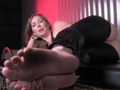 Mistress T-Foot Worship and Foot Pov