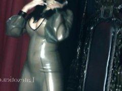 Ree Petra - transparent dress latexotica