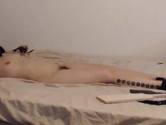 LIVE Orgasms Torture with Ohmibod Part 1