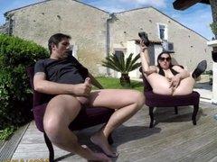 Couple amateur francais baise exterieur