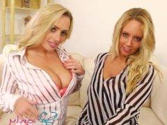 OnlyTease Pantyhose girls Holly Gibons