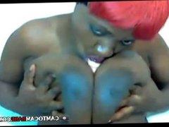 Black milf webcam girl free porn show
