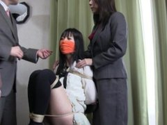 Japanese Girl Tricked And Bound