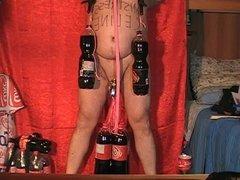 CBT 4 bottles for Mistress Celine