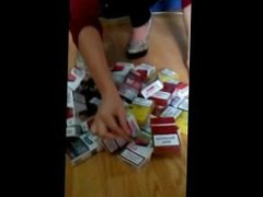 My Cigarette Packs Collection (19 years old pov domination)
