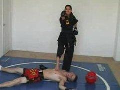 Diva - karate facebusting 1