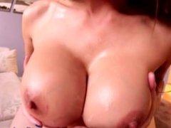 Cum Between Her Boobs - Titfuck Cumshot Compilation