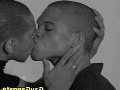 Hardcore Anal Fucking by Two Ebony Gays