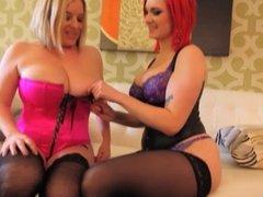 Big Tits Babes Maggie Green & Siri!