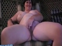 Chubby Wife Plays for Husband