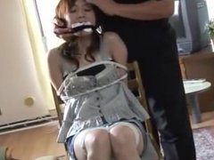 Bound and Gagged Japanese Milf