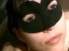 Piss drinking - Masked wife