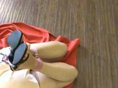 Fran tied tight