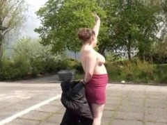 Busty bbw amateur charlies public nudity and exhibitionism