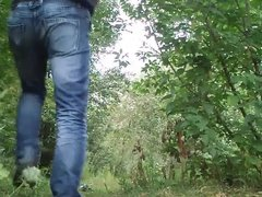 Dickflash - Small dick in woods #2